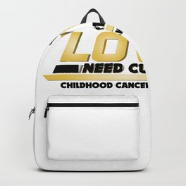 Cure Childhood Cancer Awareness Backpack