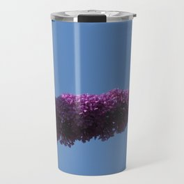 Buterfly and Flowers Travel Mug