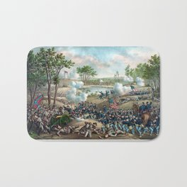 Battle of Cold Harbor -- Civil War Bath Mat