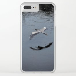 Blue Heron at Smith Rock Clear iPhone Case