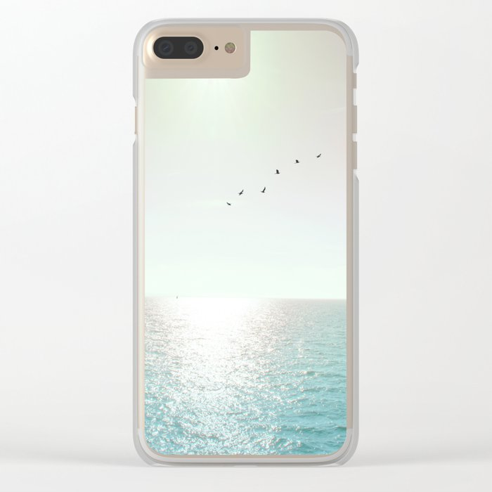 Goodbye Blighty Clear iPhone Case
