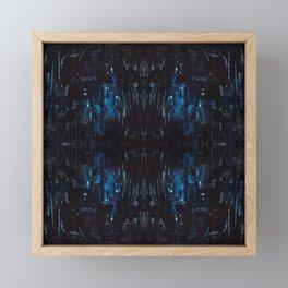 Mid-Night Blues Framed Mini Art Print