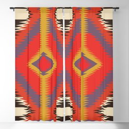 American Native Pattern No. 93 Blackout Curtain