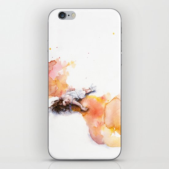 take off in flight iPhone & iPod Skin