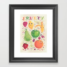 Fruity Framed Art Print