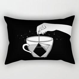 A Cup of Book Rectangular Pillow
