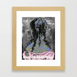 Beware of the Bubonic Plague Framed Art Print