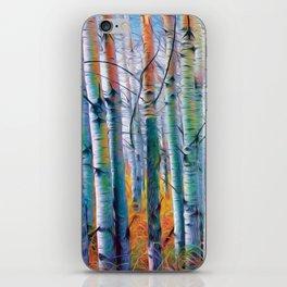 Aspen Trees in the Fall iPhone Skin