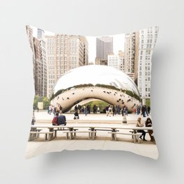 Bean Throw Pillow