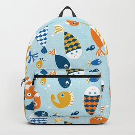 Fish Crowd Backpack
