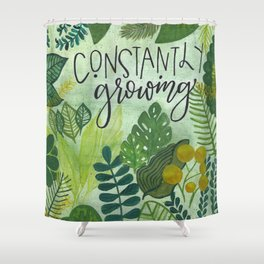 constantly growing Shower Curtain