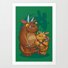 The Good The Bad The Ugly Art Print