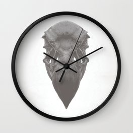 California Condor Skull Wall Clock