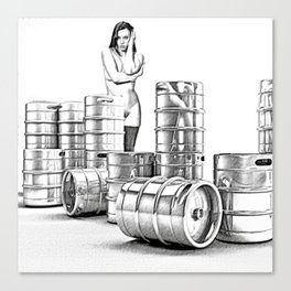 Lager and Lead Canvas Print