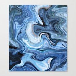 Marble texture print Canvas Print