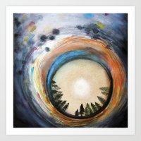 Opening Skies Art Print