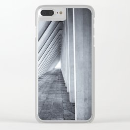 Architecture, Concrete, Modern, Belgium, Train, Station, Railway Clear iPhone Case