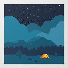 On The night Like This Canvas Print