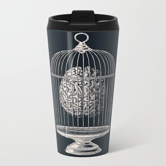 Free My Mind Metal Travel Mug