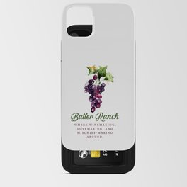 Butler Ranch iPhone Card Case
