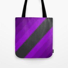 Pixel Grape Juice Dreams - Purple Tote Bag