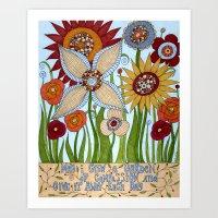 Garden of Compassion Art Print