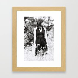 of Mud and Lillies Framed Art Print