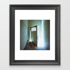 Behind The Door Framed Art Print