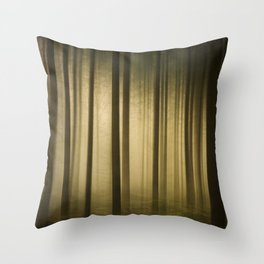 A Forest in Summer Throw Pillow
