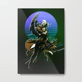 Final Fantasy Characters 3 Metal Print