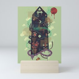 The Ominous and Ghastly Mont Noir Mini Art Print