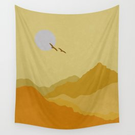 Shades of Desert Wall Tapestry
