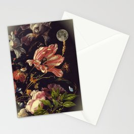 Under the moon of love Stationery Cards
