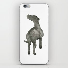 Eager Silhouette iPhone Skin