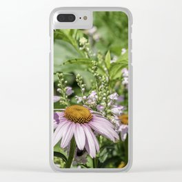 Dance of the Cone Flowers Clear iPhone Case
