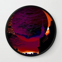 Dark side of the Moon 1 Wall Clock