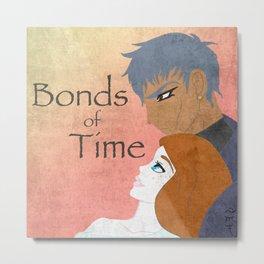 Bonds of Time Soundtrack Cover Metal Print