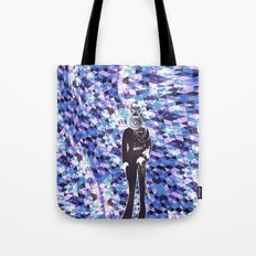 General Gears on blue Tote Bag