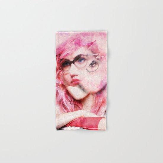 pretty in pink Hand & Bath Towel