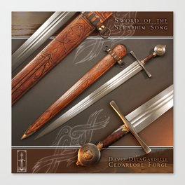 Sword of the Seraphim Song Canvas Print