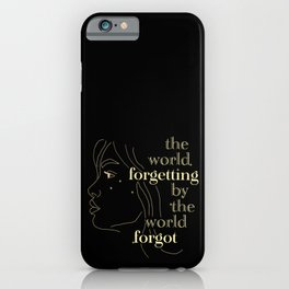 Forgetting iPhone Case