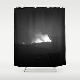 Hayden Fire Shower Curtain
