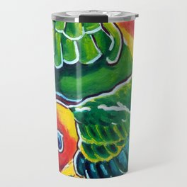 Carolina Parakeets Travel Mug