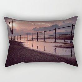 Lightening strikes Rectangular Pillow