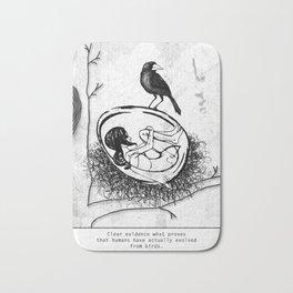 new bird Bath Mat