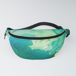 Environmental Importance, Deep Sea Water Bubbles Fanny Pack