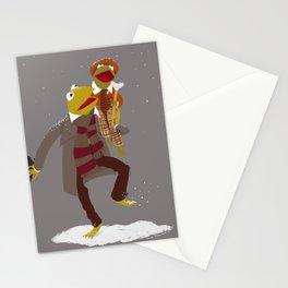 Kermit Christmas Carol Stationery Cards
