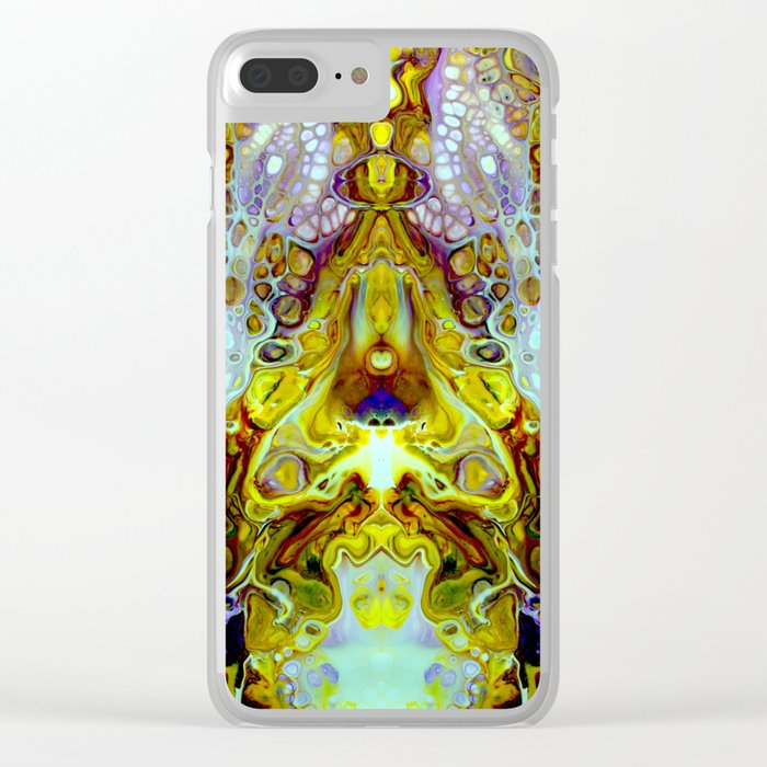 mirror 11 Clear iPhone Case