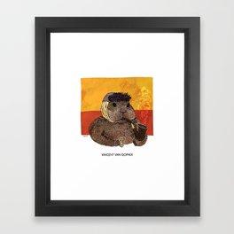 Vincent van Gopher Framed Art Print