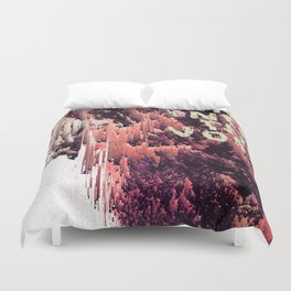 screaming into the void Duvet Cover